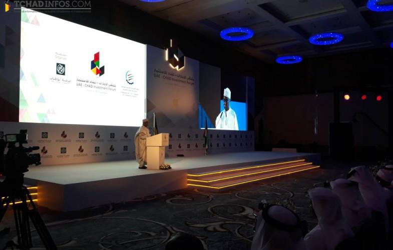 Ouverture à Abu Dhabi du Forum sur l'investissement EAU-Tchad