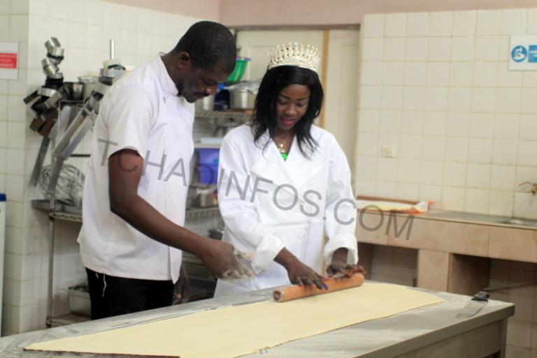 Miss Tchad 2017 se forme en pâtisserie à Pain doré