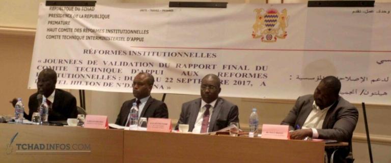 Tchad : le comité d'appui aux réformes institutionnelles s'active pour l'adoption des propositions