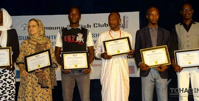 Société : 120 Tchadiens formés à parler l'anglais