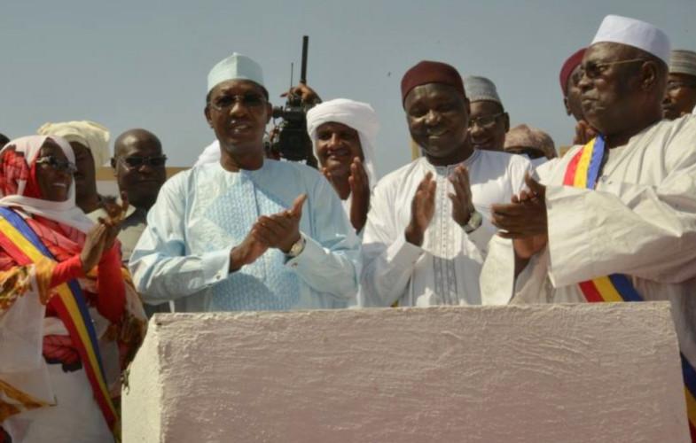 Tchad : Pose de la première pierre de construction de l'Institut du pétrole de Mao