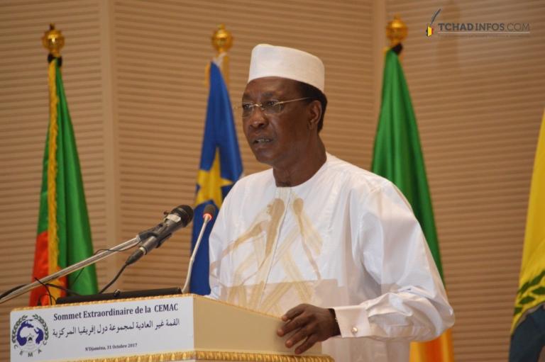 """""""Le Tchad n'abrite pas de terroriste"""" Idriss Déby Itno"""