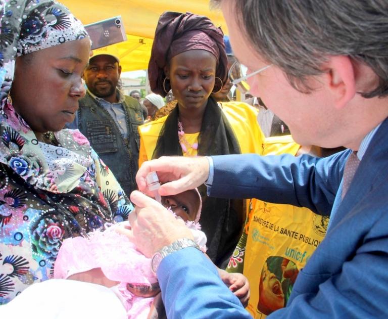 Poliomyélite: Une vaccination intensifiée pour le bien-être de plus de 4 millions d'enfants du Tchad