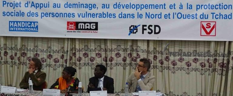 Tchad : Lancement du « Projet de déminage et de développement économique »