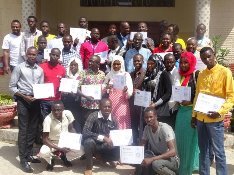 Tchad : Des jeunes réfugiés centrafricains obtiennent des diplômes grâce à un cours en ligne