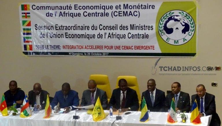 Tchad : Ouverture de la Session extraordinaire du conseil des ministres de l'UEAC