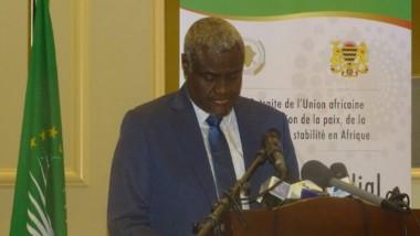 """""""L'UA a de bonnes relations avec les autres organisations """" Moussa Faki"""