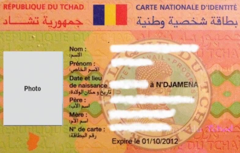 Tchad : Les documents nationaux d'identification seront sécurisés