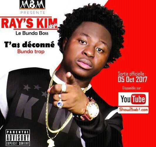 Musique : Ray's Kim Edm se lance dans l'Afro Trap avec « T'as déconné »