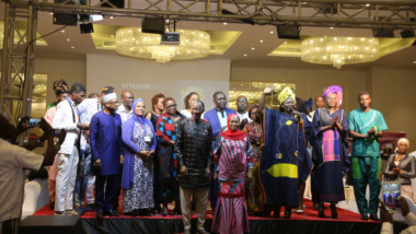 Hommage à Pathé'o en conclusion de la N'Djamena Fashion Week Saamha