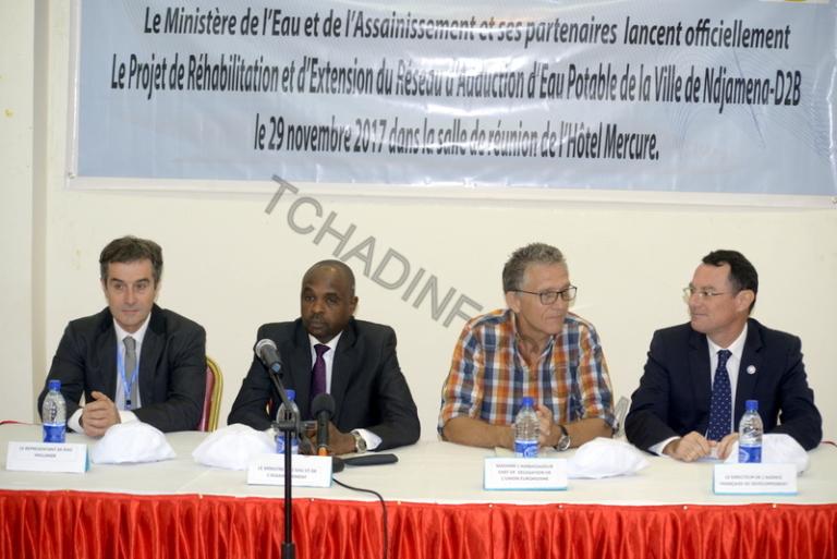 Tchad : Lancement du projet « D2B » pour desservir N'Djamena en eau potable