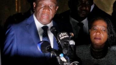 Zimbabwe : Emmerson Mnangagwa investi président de la République