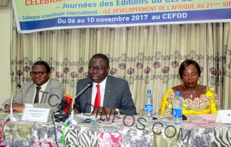 CEFOD : Un colloque sur « la problématique du développement en Afrique au 21ème siècle »