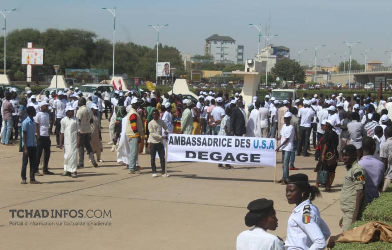 """Tchad: une marche """"contre l'ingérence des USA"""""""