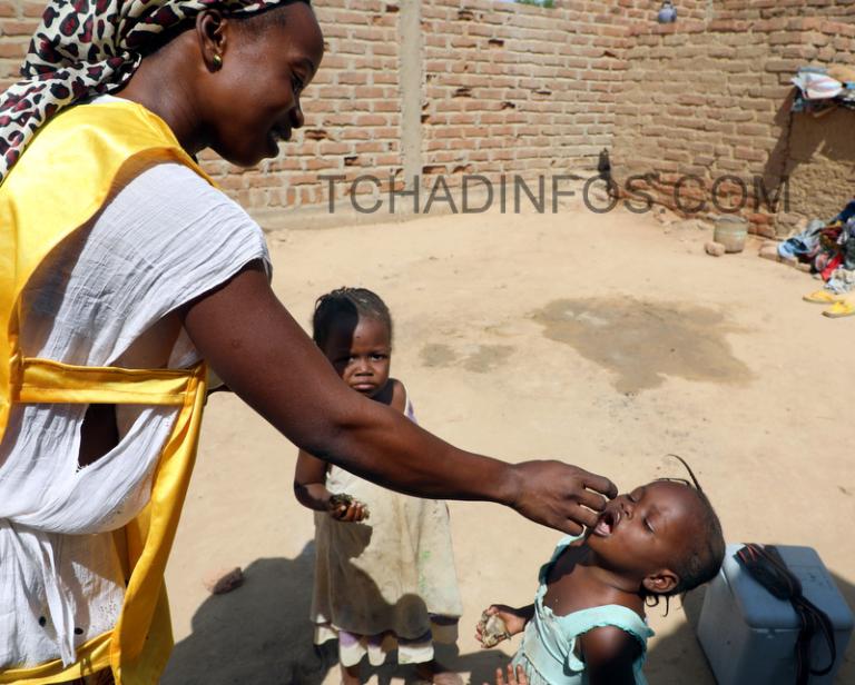 Tchad: Plus de 2 millions d'enfants ont été vaccinés contre la Polio en novembre 2017