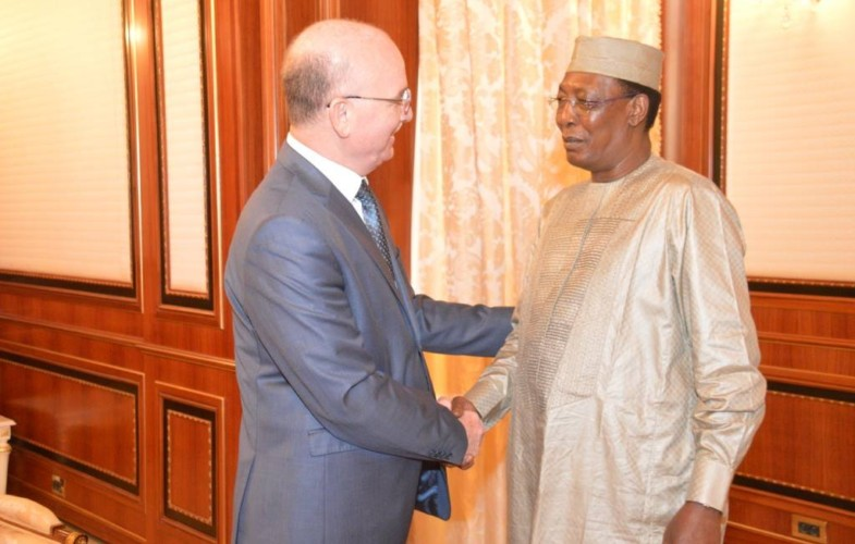 Le Président Deby accorde un entretien à l'ambassadeur Ismaël Chergui