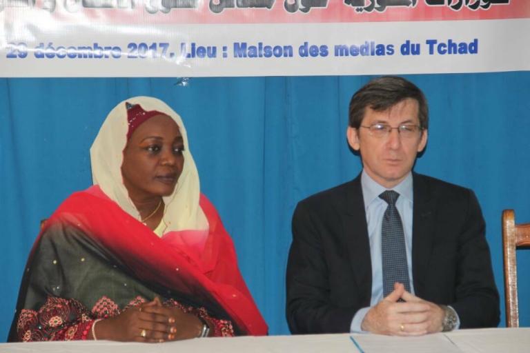 Tchad : L'Unicef renforce les capacités des Attachés de Presse et Secrétaires Généraux de 15 Ministères