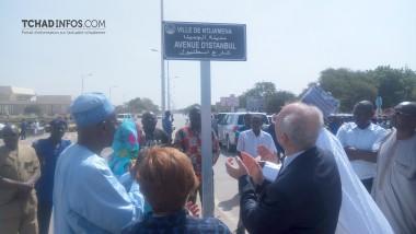 N'Djamena: l'axe Palais du 15 au viaduc de Chagoua baptisé Avenue d'Istanbul