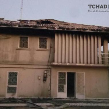 Un incendie a consumé un bâtiment du CNAR