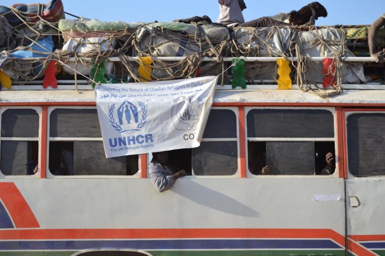 Le HCR salue le démarrage du rapatriement volontaire des réfugiés tchadiens du Darfour