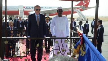Communiqué conjoint de leurs Excellences les Présidents Recep Tayyip Erdogan et Idriss Deby Itno