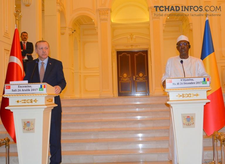 """""""Le Tchad est un partenaire de la Turquie depuis le 16e siècle"""" Recep Tayyip Erdogan"""