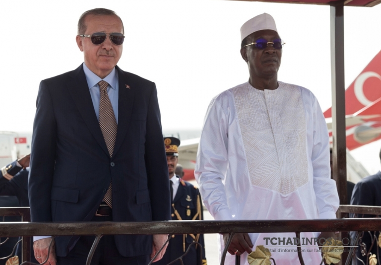 Turquie – Tchad: Erdogan invite son homologue Idriss Déby Itno à Ankara