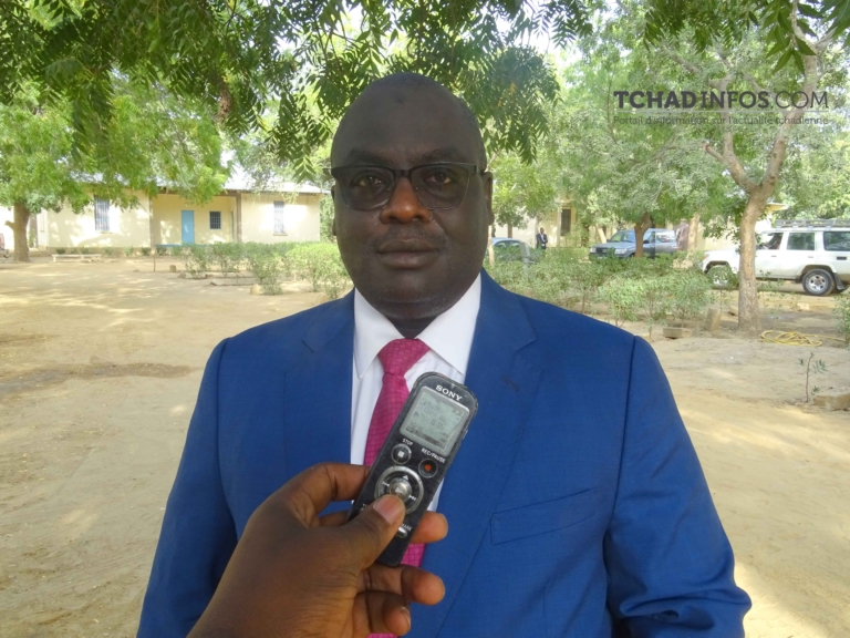 """""""Les droits de l'homme sont en progression au Tchad"""" Abdel-Nasser Garboa"""