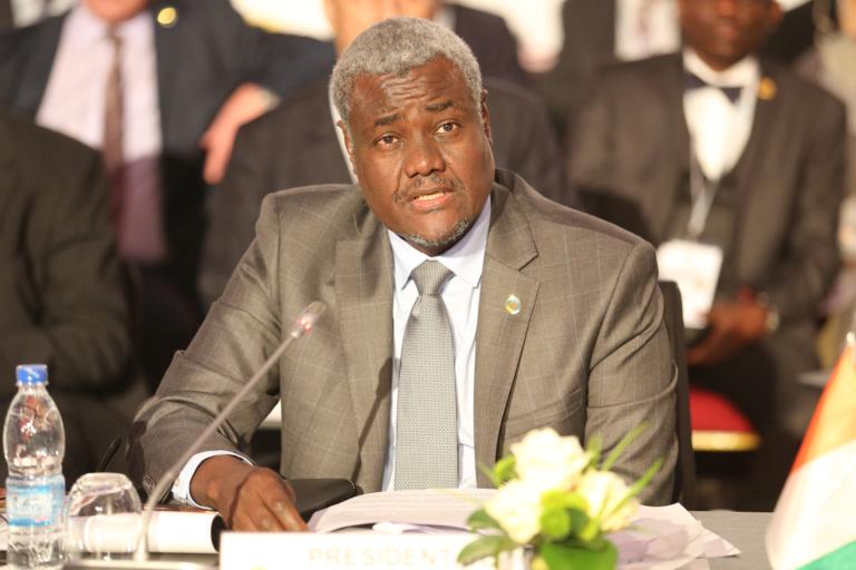 Moussa Faki Mahamat souhaite briguer  un second mandat à la tête de la Commission de l'Union africaine