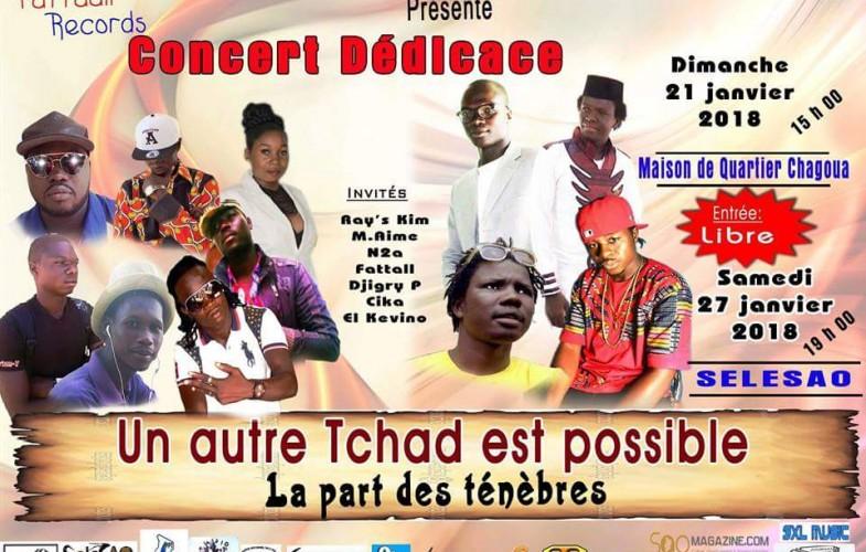 Musique: Deux concerts pour la dédicace de l'album ''Un autre Tchad est possible''