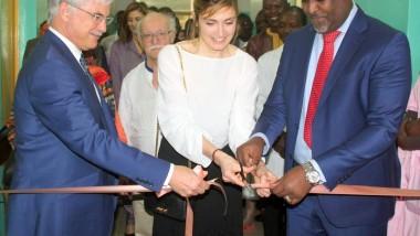 Tchad : Inauguration de la salle d'accouchement de l'hôpital du Bon Samaritain