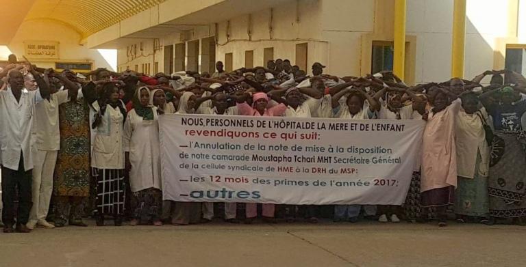 Santé : Le personnel de l'Hôpital Mère et Enfant en grève sèche