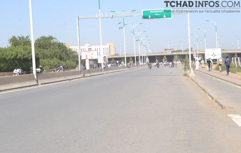 Tchad : l'absence des transporteurs dans les réseaux routiers fluidifie la circulation à N'Djaména