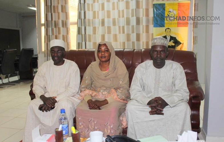Tchad : Mme Mariam Djimet Ibet et ses deux adjoints ont été réinstallés
