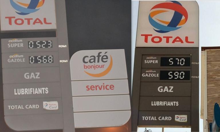 Tchad : hausse des prix de l'essence et du gasoil à la pompe
