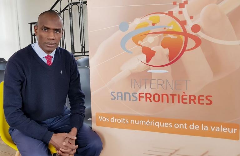 Internet Sans Frontières : le Tchadien  Abdelkerim Yacoub Koundougoumi nommé responsable Division Afrique Centrale