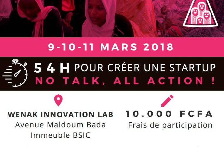 Entrepreneuriat féminin : « Startup weekend women  N'Djamena »  du 9 au 11 mars