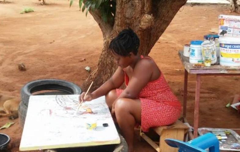 #11 Entreprenariat féminin : Sika Akpaloo, une femme aux doigts d'art