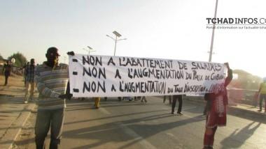 Tchad : la marche pacifique des partis politiques, dispersée