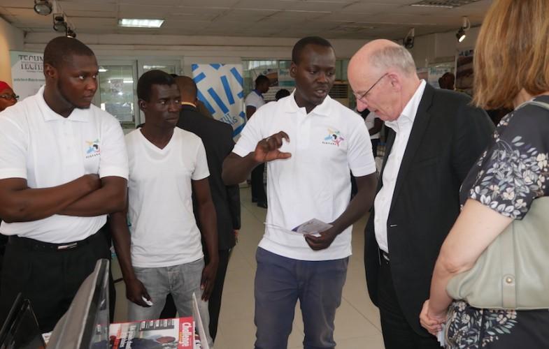 Un sénateur français à la rencontre de la jeunesse entreprenante tchadienne à l'IFT