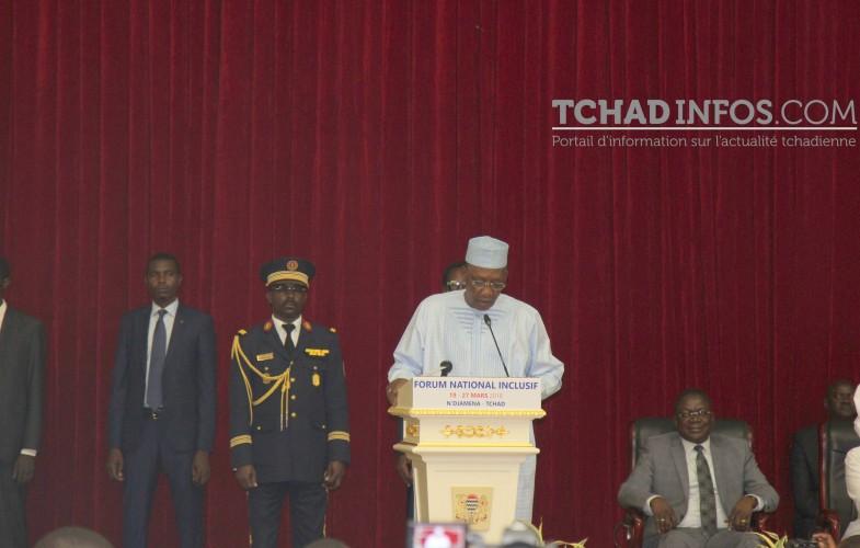 Tchad : Déby propose la tenue d'un forum national inclusif tous les deux ans