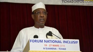 Forum National Inclusif : Discours de S.E.M IDRISS DEBY ITNO