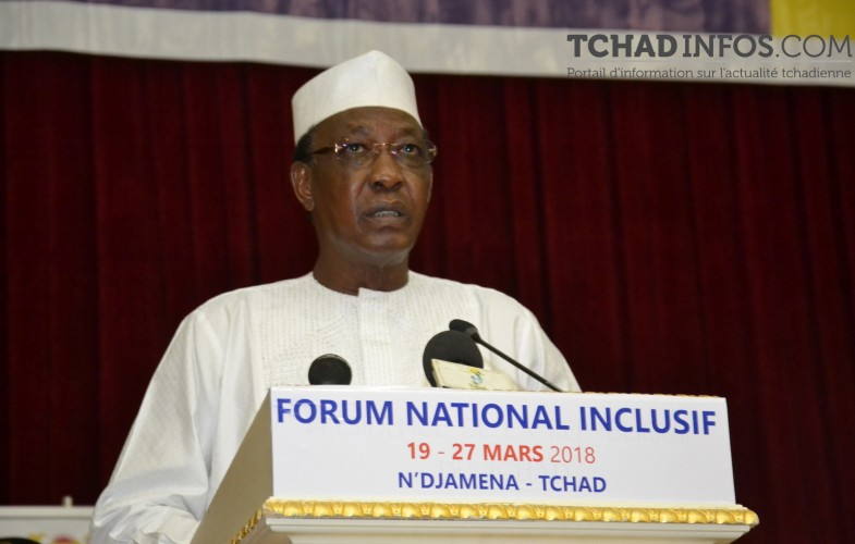 Forum National Inclusif : Discours de S.E.M  IDRISS DEBY ITNO
