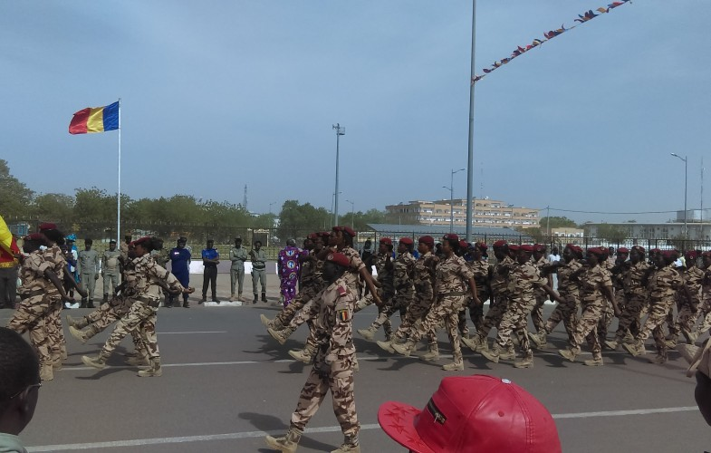 Journée du 08 mars : Les femmes tchadiennes défilent à la Place de la Nation
