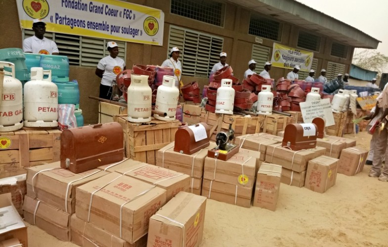 Société : Des Handicapés reçoivent un lot de matériels de la Fondation Grand Cœur