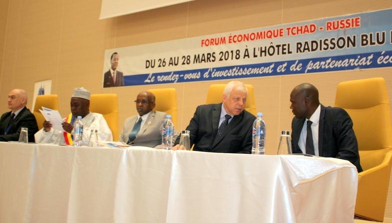 Economie : Le premier Forum économique Tchad/Russie s'ouvre à N'Djamena