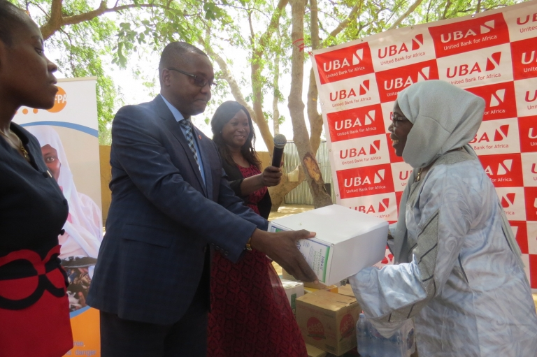 Tchad : La banque panafricaine UBA fait un don au centre de Fistule