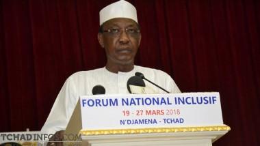 Tchad : Idriss Déby Itno annonce la 4ème République