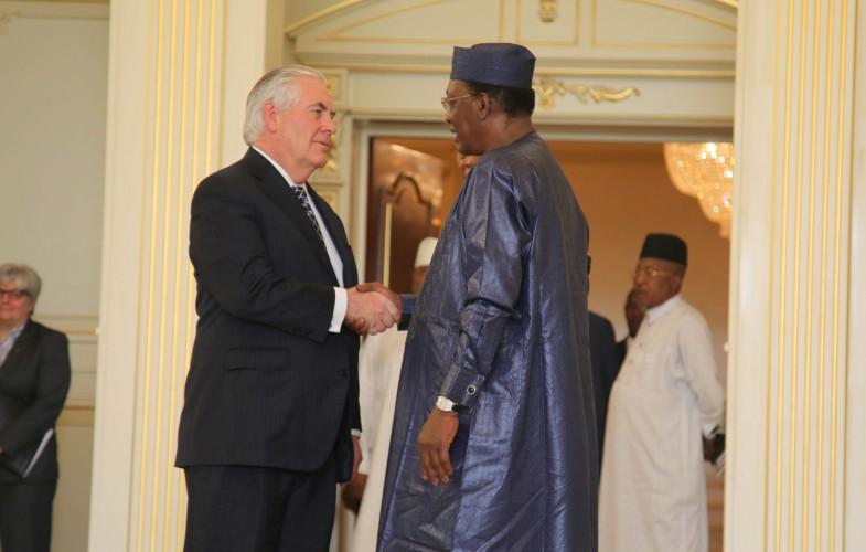 USA : le Secrétaire d'Etat Rex Tillerson remercié après son retour du Tchad