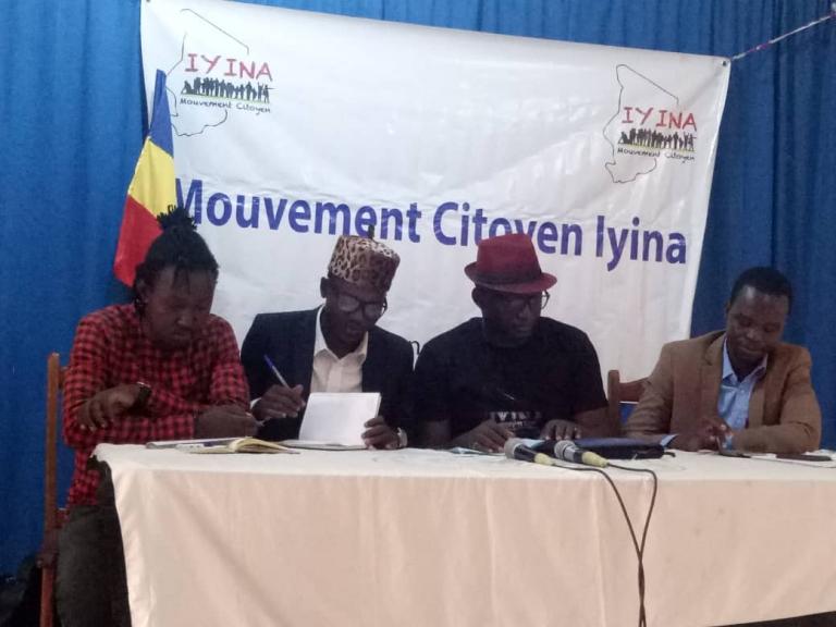Société : le mouvement IYINA s'insurge contre la condition de vie des Tchadiens